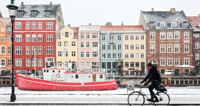 Dinamarca Europa Turismo Bicicletas