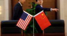 China EUA Bandeiras
