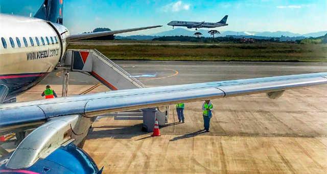 Aviões da Azul