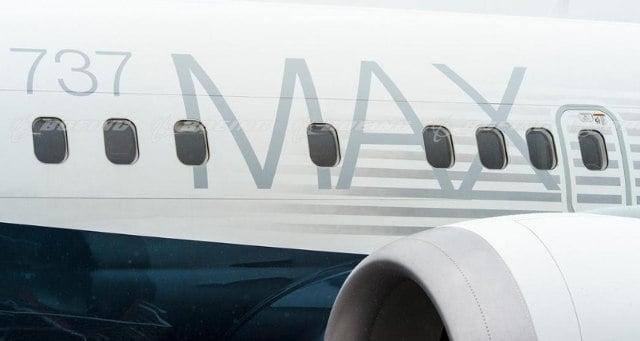 Avião da Boeing