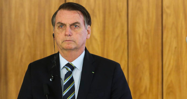 Jair Bolsonaro no Palácio do Planalto