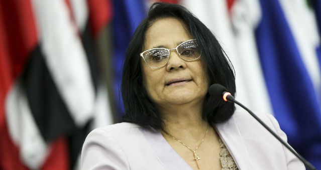 Ministra da Mulher, da Família e dos Direitos Humanos, Damares Alves