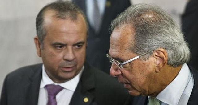 Rogério Marinho e Paulo Guedes