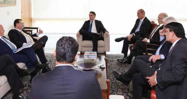 Jair Bolsonaro e partidos
