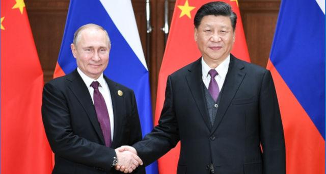 Putin e Xi Jinping China Rússia