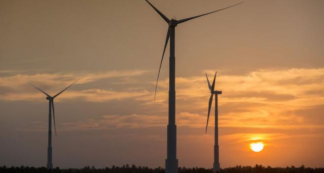 Energia eólica Furnas