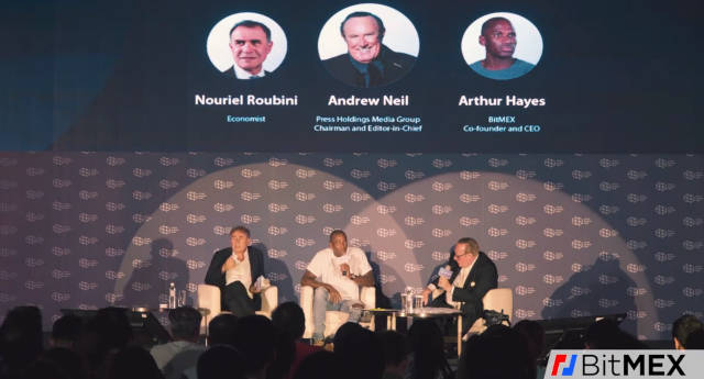 Roubini Versus CEO da Bitmex: O melhor debate sobre Bitcoin