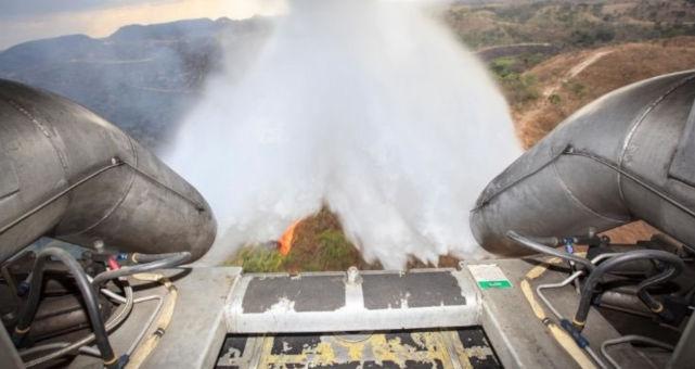 Amazônia incêndio Exército