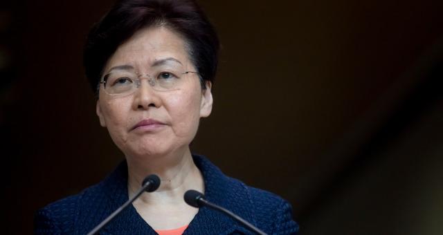 Carrie Lam, líder-executiva de Hong Kong