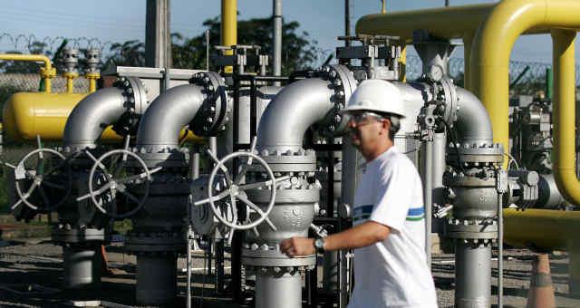 Gás Industria Petroquímico