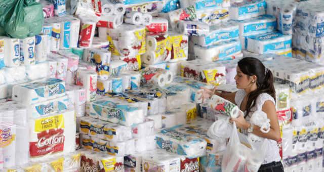 Papel Higiênico Consumo Atacado