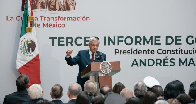 Andres Manuel Lopez Obrador Presidente México