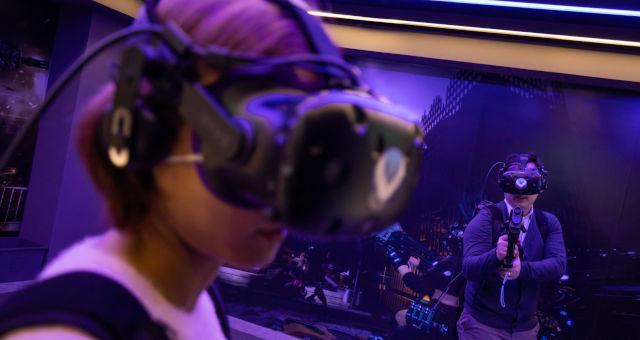 Artificial Reality Óculos de Realidade Virtual Tecnologia