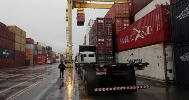 Exportação Importação Contêiner Porto