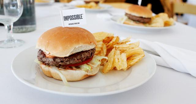 Hambúrguer Fast Food Impossible