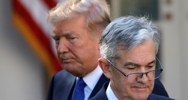 Jerome Powell Donadl Trump
