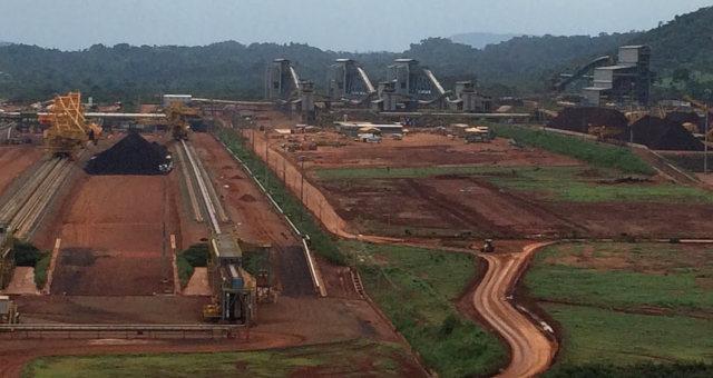 Mineração Vale Minério de Ferro