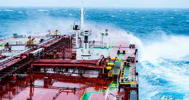 petróleo-navios