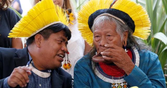Raoni Metuktire Amazônia Índios