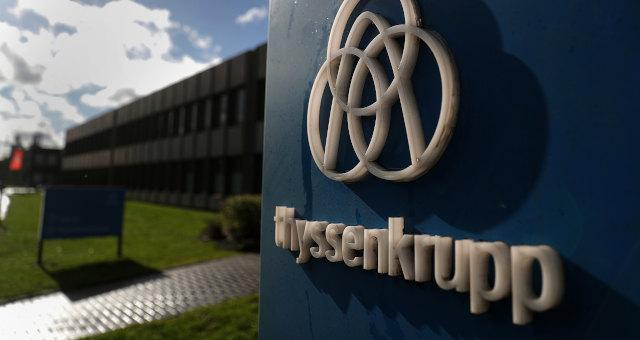 Thyssenkrupp Aço Alemanha Empresas