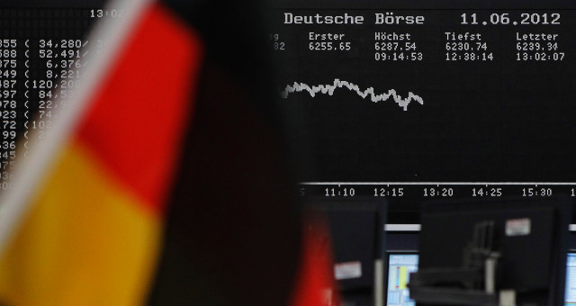Germany flags markets Europe