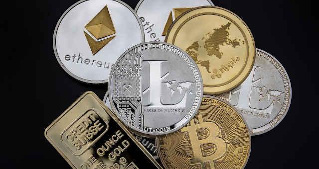 altcoins bitcoin criptomoedas ouro ether litecoin ripple