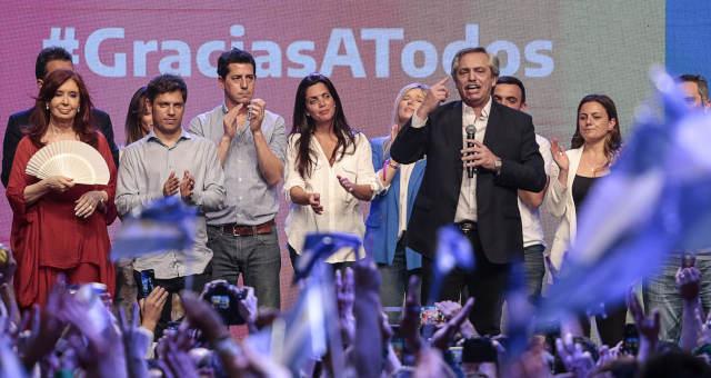 Argentina Alberto Fernandez Cristina Kirchner Eleições