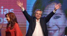 Alberto Fernández e Cristina Kirchner Eleições da Argentina