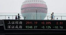 Ásia China Xangai Mercados