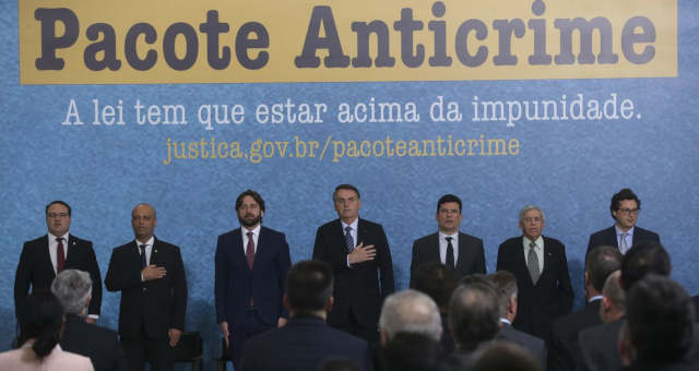Bolsonaro pacote anticrime