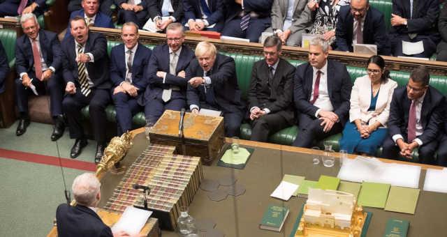 Boris Johnson Parlamento Britanico