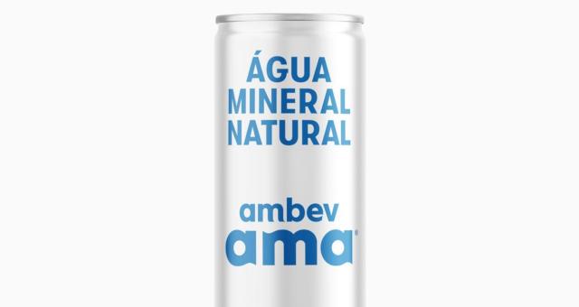 Ambev lançará primeira água mineral em lata do Brasil até fim de 2019 -  Money Times