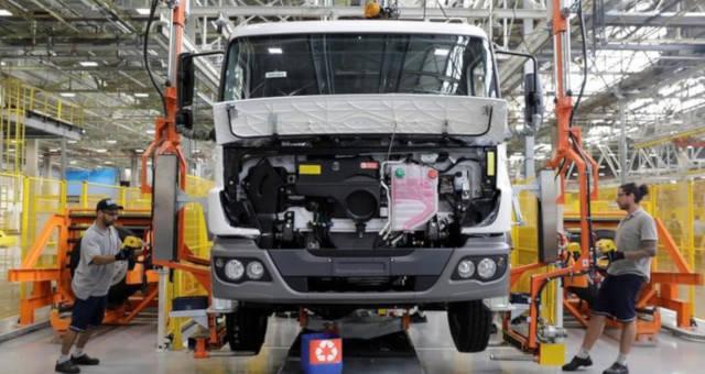 Caminhão Setor Automotivo Indústria