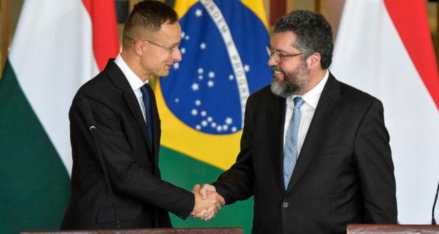 Ernesto Araújo e Péter Szijjártó