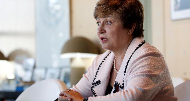 Diretora-gerente do Fundo Monetário Internacional, Kristalina Georgieva