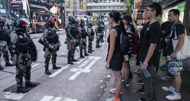 Hong Kong Protestos