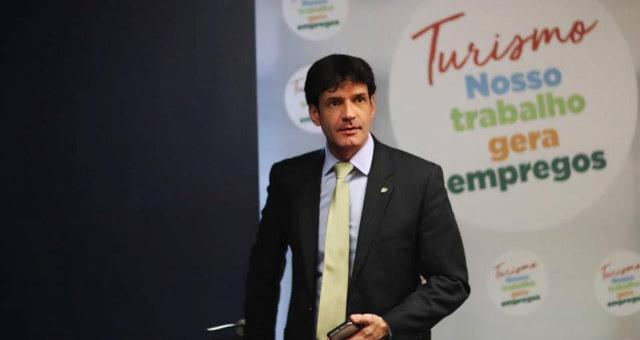 Ministro do Turismo Marcelo Alvaro Antônio