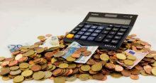 moedas calculadora finanças poupança