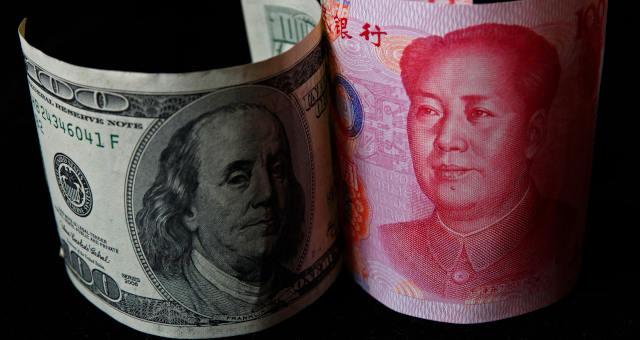 Moedas Dólar Yuan Guerra Comercial
