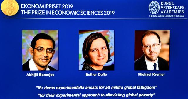 Ganhadores do Nobel de Economia de 2019
