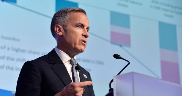 O presidente do Banco da Inglaterra, Mark Joseph Carney