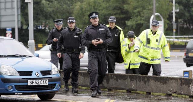 Policia Reino Unido
