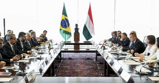 Reunião Brasil e Hungria