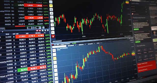 mercado gráfico estatística alta baixa finanças