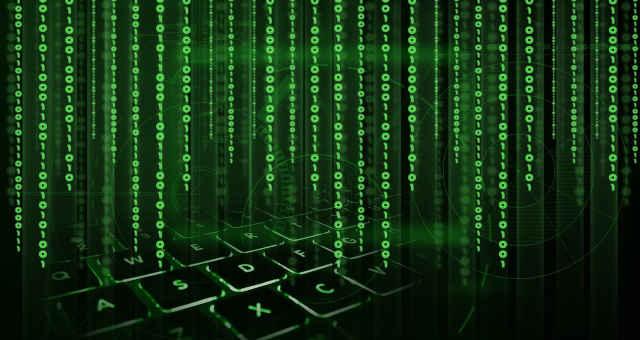 binário teclado tecnologia