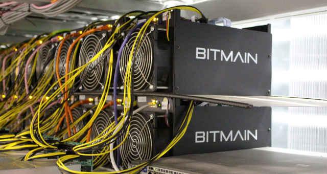 bitmain mineração