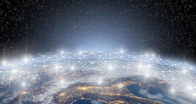 blockchain mundo rede tecnologia conexão