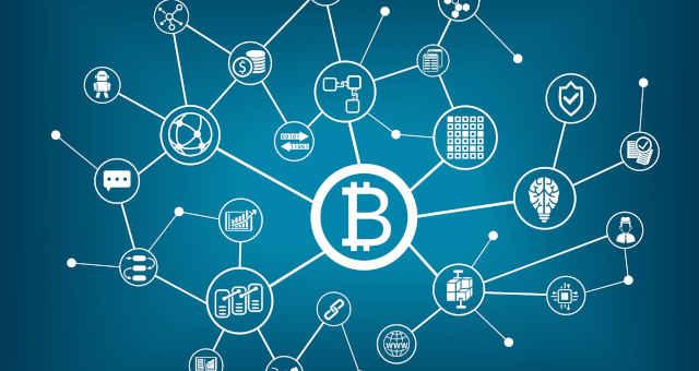 blockchain rede comunicação nós interligado interconexão