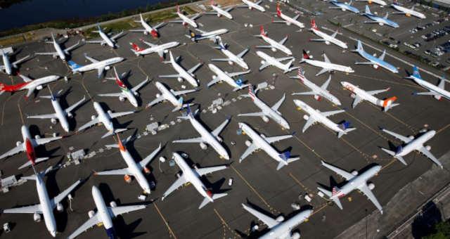 Aviões do modelo Boeing 737 MAX