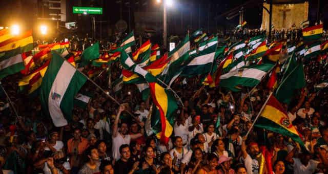 Bolivia oposição